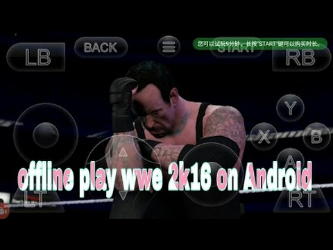 wwe 2k16 on android