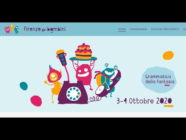 Firenze dei Bambini 2020, nel segno di Gianni Rodari