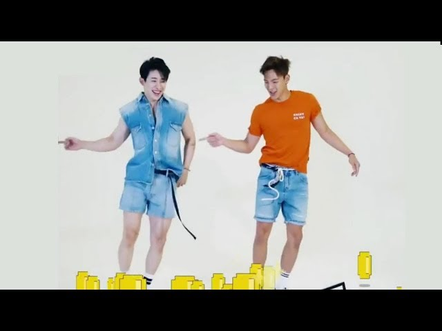 Monsta X Shownu & Wonho Dance Player for GQ Korea