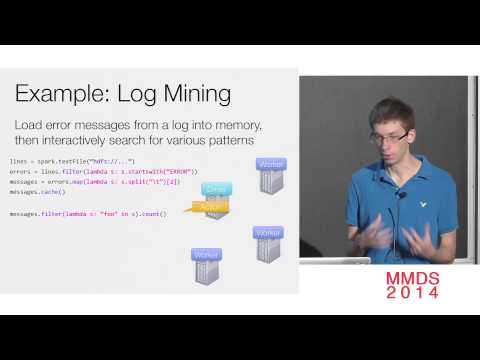 Large-Scale Numerical Computation Using a Data Flow Engine; Matei Zaharia