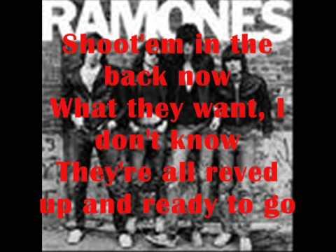 The Ramones - Blitkrieg Bop - Lyrics