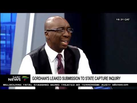 Gordhan's revelations about interactions with the Guptas: Dr. Mazwe Majola