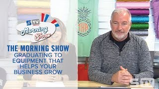 The Right Equipment for a Heat Printing Business | Morning Show Ep. 128