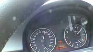 BMW E90 320i 0-200 km/h