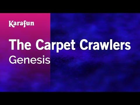 Karaoke The Carpet Crawlers - Genesis *