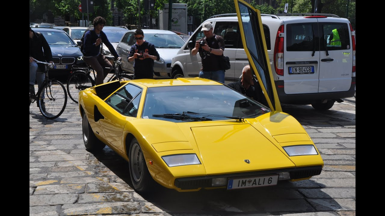 Lambo Countach Lp400 Before The Crash Startup Fails And