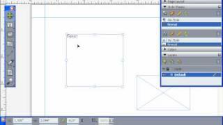 """Панель инструментов """"Tools"""" в QuarkXpress 8 - нововведения (4/55)"""