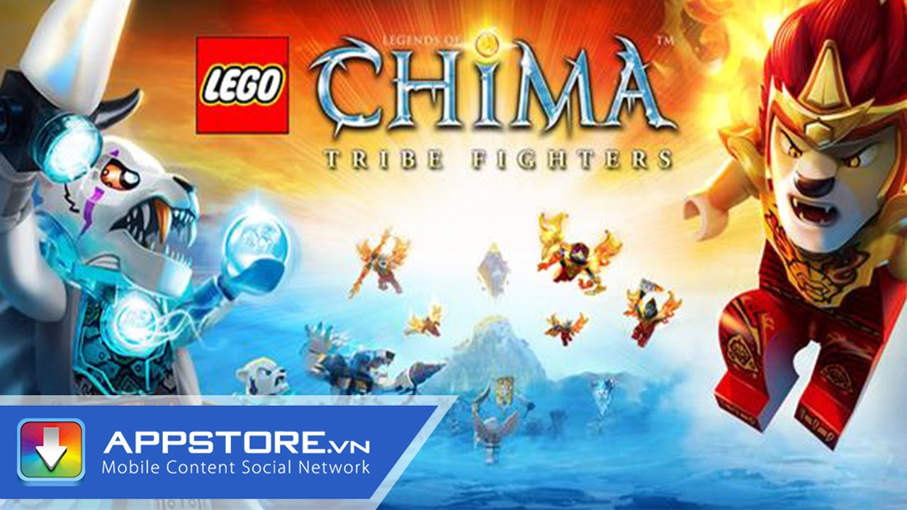[iOS Game] Chima Tribe Fighters – Biệt đội Chima – AppStoreVn
