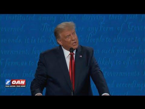 Live: Final Presidential Debate Donald Trump vs Joe Biden 10/22/20