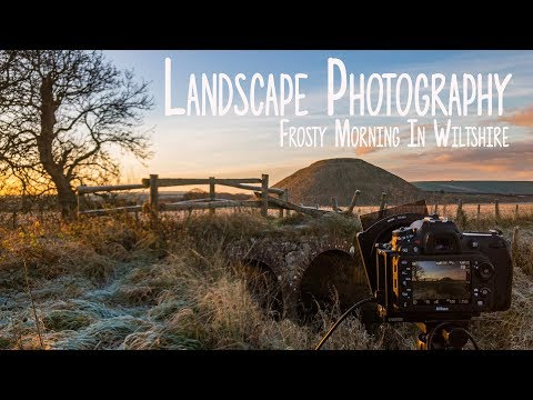 Landscape Photography /Frosty Sunrise In Wiltshire / Big Stopper and D7200