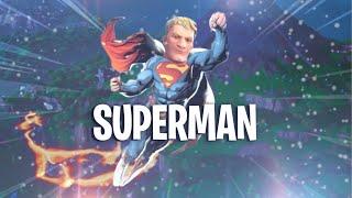 DRVENEZ SUPERMAN IN FORTNITE THANKS TO THIS GLITCH!