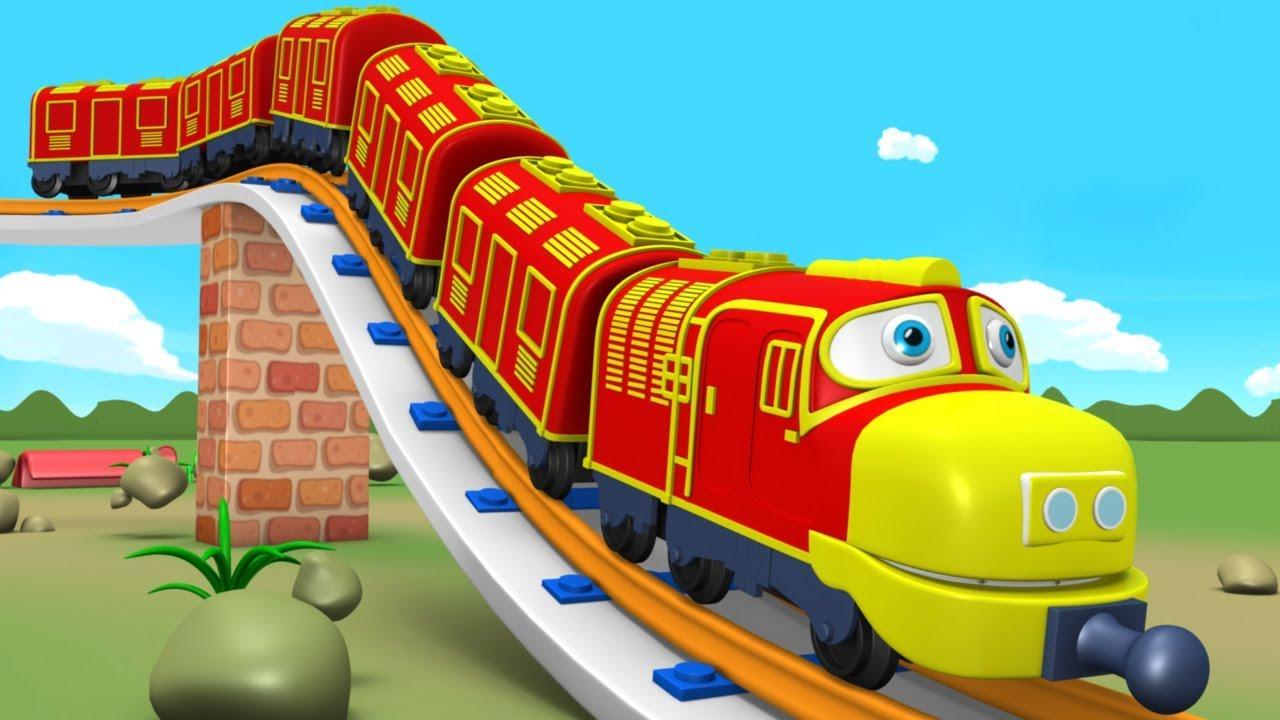 Chu Chu Train Cartoon Video For Kids Fun Toy Factory