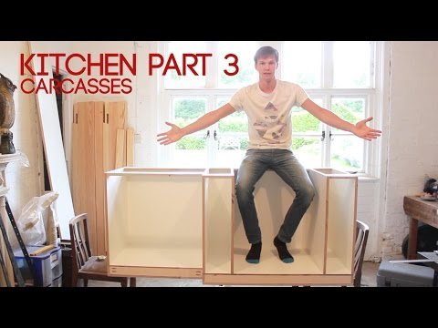 How To Build Kitchen Cabinet Carcass