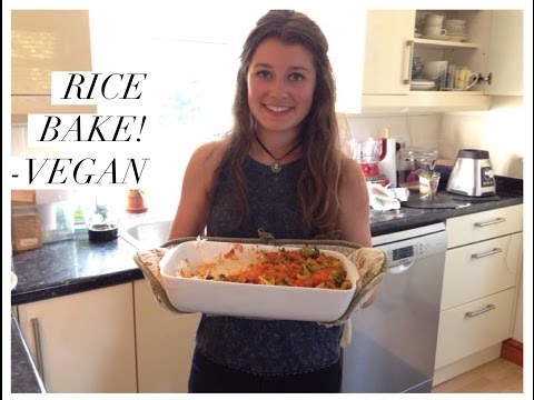Rice Broccoli Bake! VEGAN (HCLF, RawTill4, McDougall)