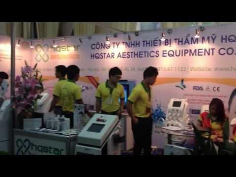 HQSTAR - Tham gia Triểm lãm Quốc tế Chuyên ngành Y Dược Việt Nam