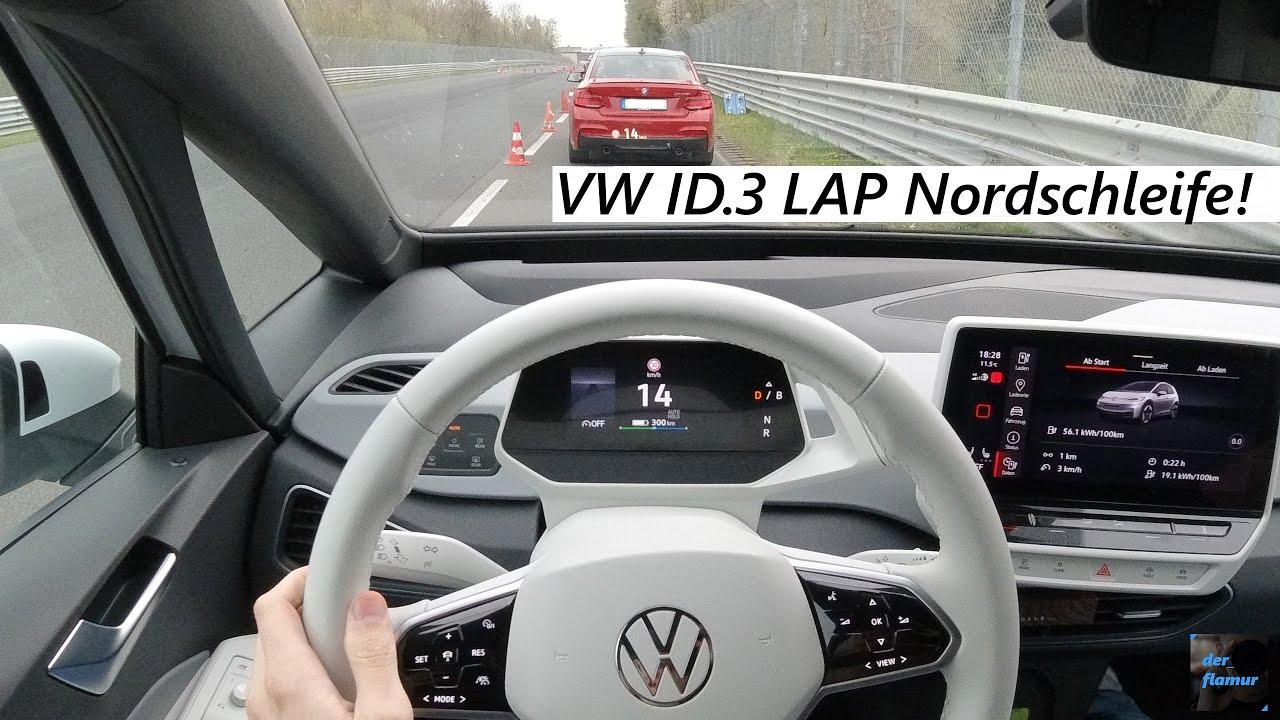 Download Elektroauto macht die grüne Hölle unsicher! One Lap Nordschleife im VW ID.3