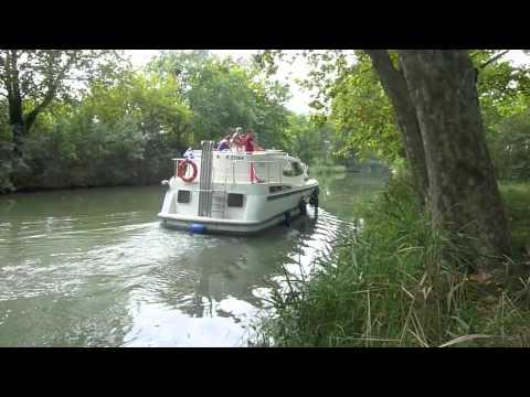 Le Canal Du Midi En Péniche.m4v