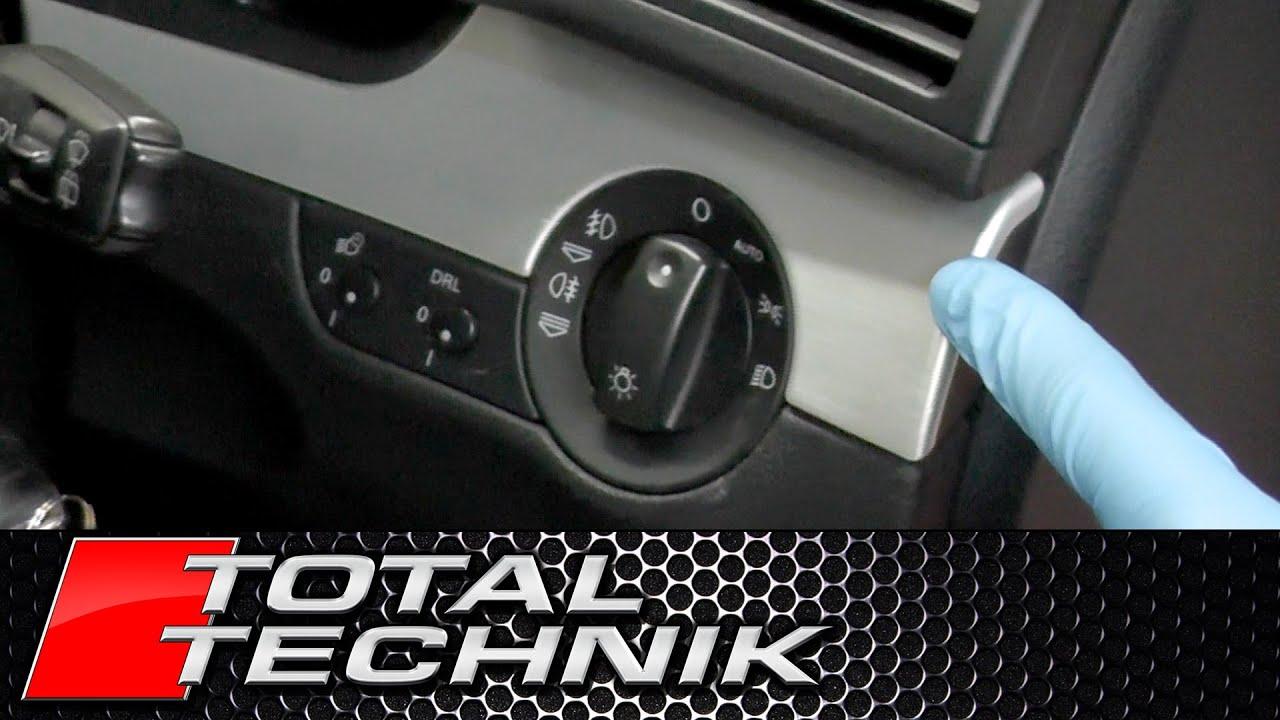 How To Remove Dash Trim Around Headlight Switch