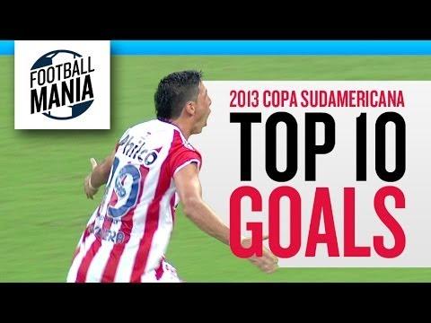Top 10 Goals - 2013 COPA SUDAMERICANA