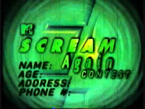 MTV Scream Again Contest commercial 1997
