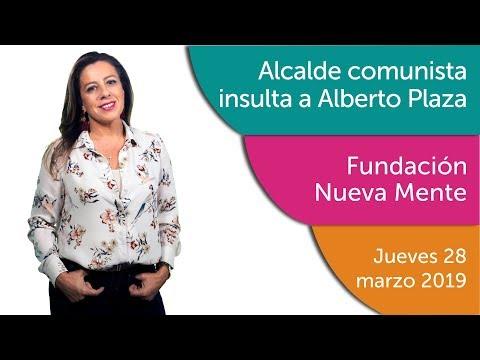 Tere Marinovic: Alcalde comunista insulta a Alberto Plaza.
