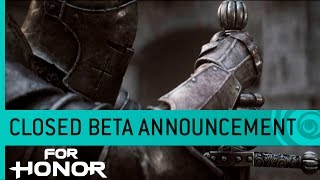 For Honor Cinematic Trailer Closed Beta Date Announcement The Thin Red Path US