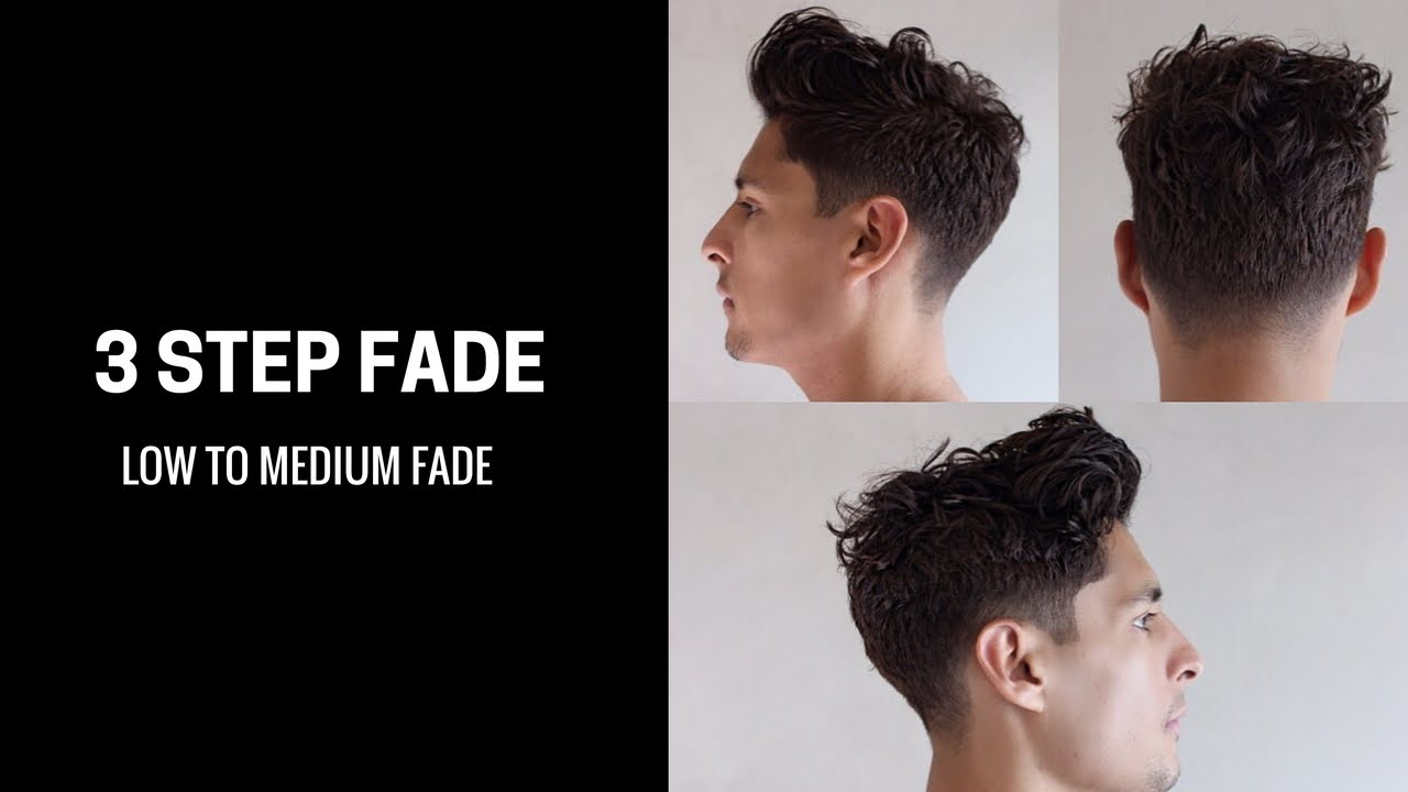Clean Taper Fade For Long Thick Hair Cut And Style Youtube