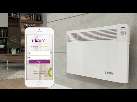 HeatEco TESY Cloud Electric Panel Convectors - Video Guide 2