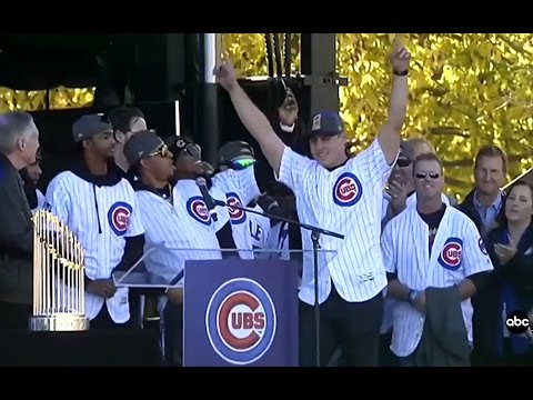 FULL EVENT: Chicago Cubs World Series Rally | Full Speeches
