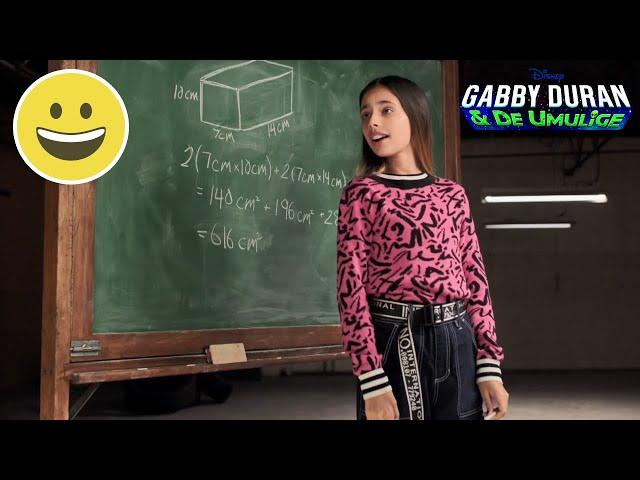 Matematikproblemer | Gabby Duran | Disney Channel Danmark