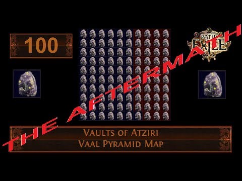 PATH OF EXILE - DOING 100 VAULTS OF ATZIRI MAP IN A ROW | THE AFTERMATH!