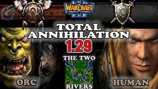 Grubby | Warcraft 3 The Frozen Throne | ORC v HU - Total Annihilation - The Two Rivers