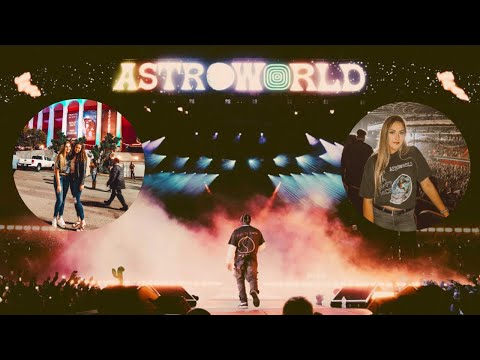 COME WITH ME TO ASTROWORLD WITH TRAVIS SCOTT AT THE FORUM // LA SHOW NIGHT 2