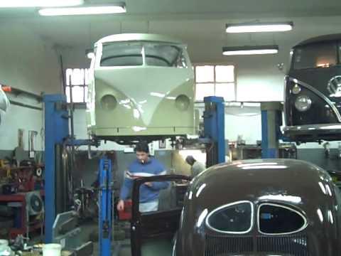 Latest from the Vintage Vans workshop.