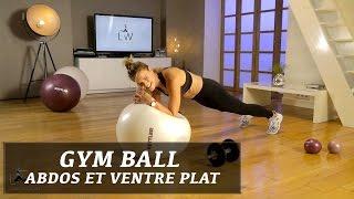 Gym avec Ballon (Kettler) Exercices abdominaux / ventre plat pour femmes - FITNESS STUDIO BY LUCILE