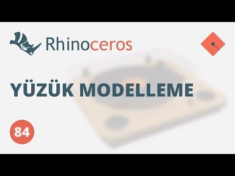 Yakın Kampüs - Rhinoceros Ders 84 - Yüzük Modelleme