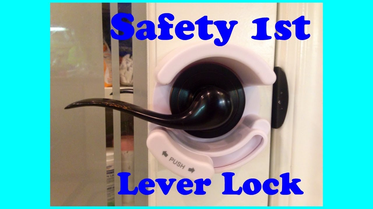 sc 1 st  YouTube & Safety 1st Lever Door Lock Review *valuable tips given!* - YouTube