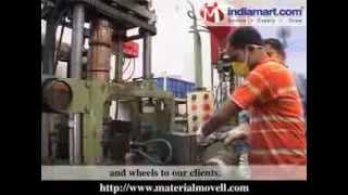 Manufacturer & Exporter Of Trolley Wheels, Caster Wheels, Rubber Trolley Wheels, etc