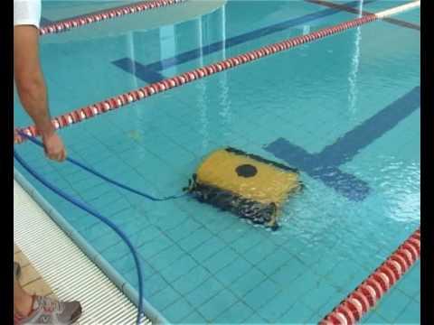 Dolphin aspirador by gotazul youtube for Aspiradoras para piscinas