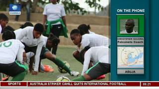 Falconets Prepare For FIFA Women's World Cup |Sports This Morning|