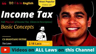 Income Tax : Basic Concepts (Part A) AY 2017-18