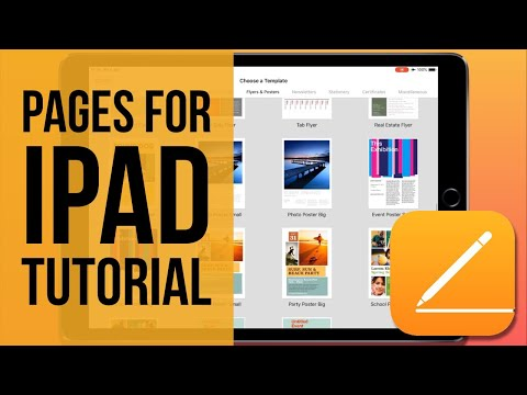 Pages For IPad Tutorial 2019