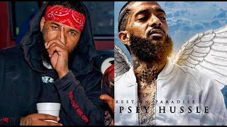 Game In Nipsey Hussle Hood Break Down & Cry In Tears Blame The Hood For Nipsey Death..DA PRODUCT DVD