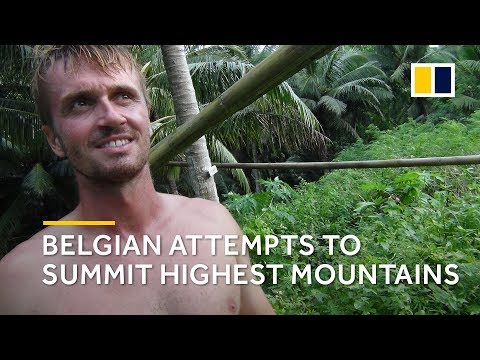 Adventurer on journey to climb the highest mountain on every continent under his own power