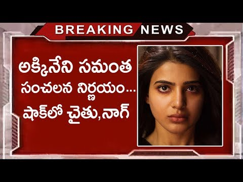 Akkineni Samantha To Quit Movies | Samantha & Naga Chaitanya Decision For Children | Tollywood Nagar