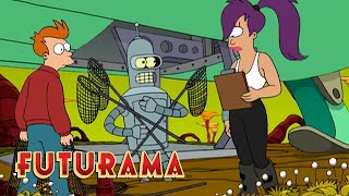 FUTURAMA | Season 1, Episode 4: Meet Nibbler | SYFY