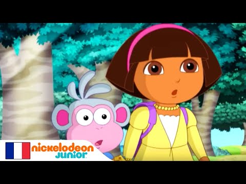 Dora l'Exploratrice | Le grand méchant loup | NICKELODEON JUNIOR