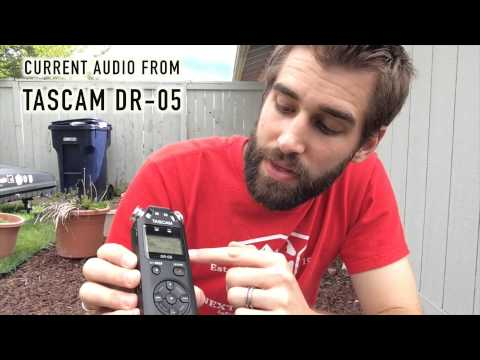 ★★★★★ TASCAM DR-05 Portable Digital Recorder Test & Review - Amazon