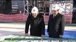 Н.Назарбаев и Ш.Мирзиёев осмотрели ряд достопримечательностей Астаны