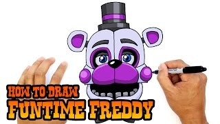 How to Draw Funtime Freddy | FNAF Sister Location